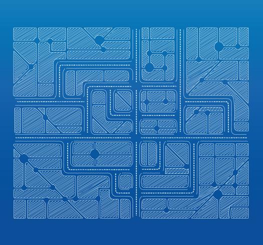 planritning vektor