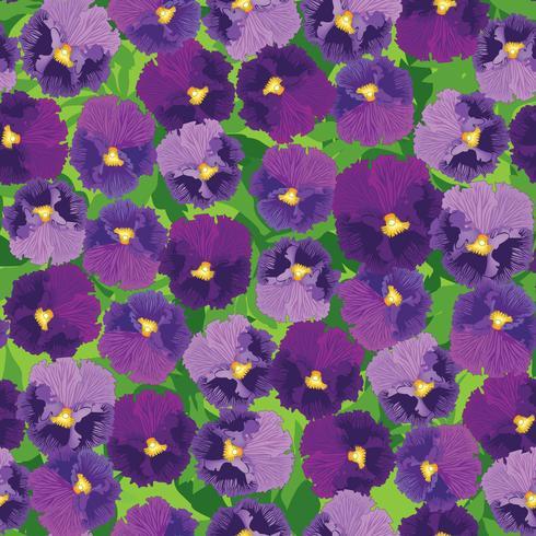 Blommigt sömlöst mönster. Blomma bakgrund. Blomträdgårdsstruktur vektor
