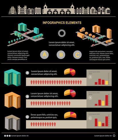 Infografik vektor
