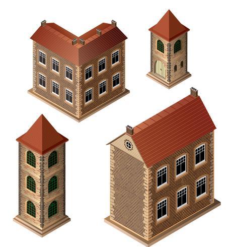 Alte Gebäude vektor