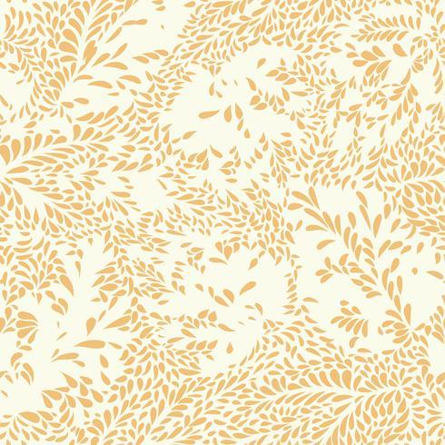 Abstrakt blommönster Mönster sömlös textur. Växtbakgrund vektor