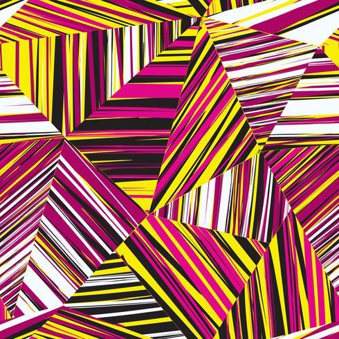 Abstrakt geometrisk sömlös mönster Chaotisk rand linje bakgrund vektor