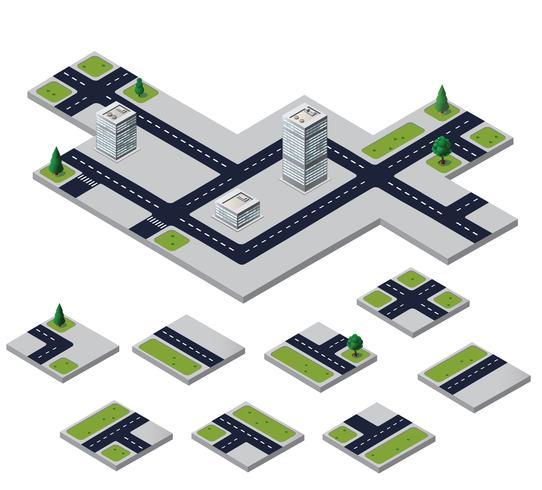 städtische Elemente vektor