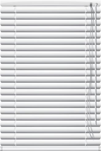 Jalousien für Fenster vektor