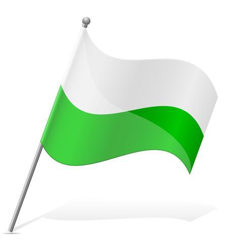 Flagge von Wales-Vektorillustration vektor