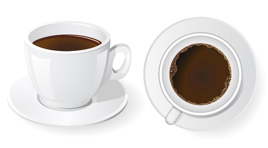 koppar kaffe vektor