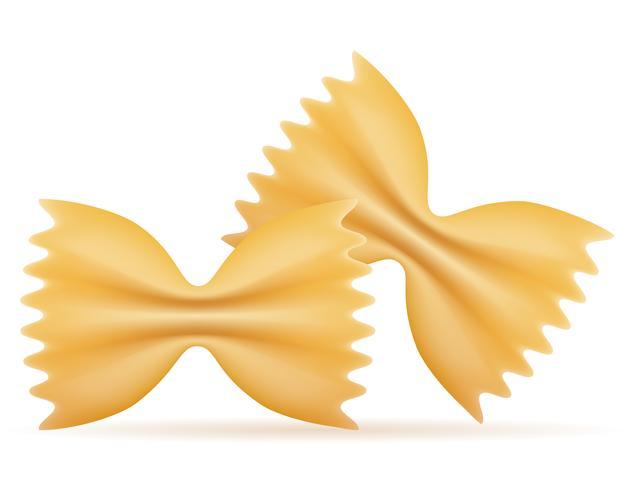 pasta vektor illustration