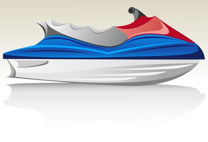 aquabike jet ski vektor