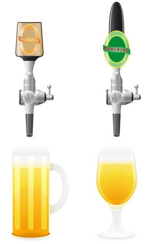 öl utrustning vektor illustration