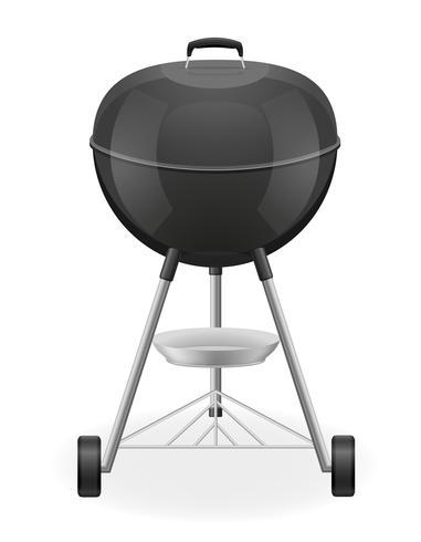 brazier för grill vektor illustration
