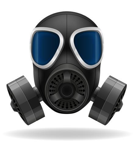 gasmask vektor illustration