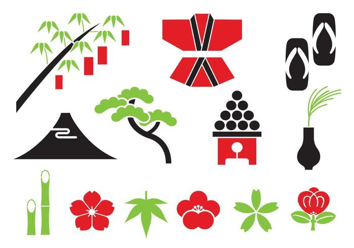 Orientalische Vector Elements Pack