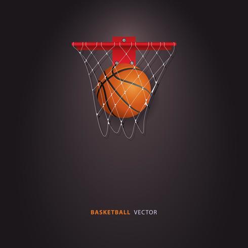 Basketillustration vektor
