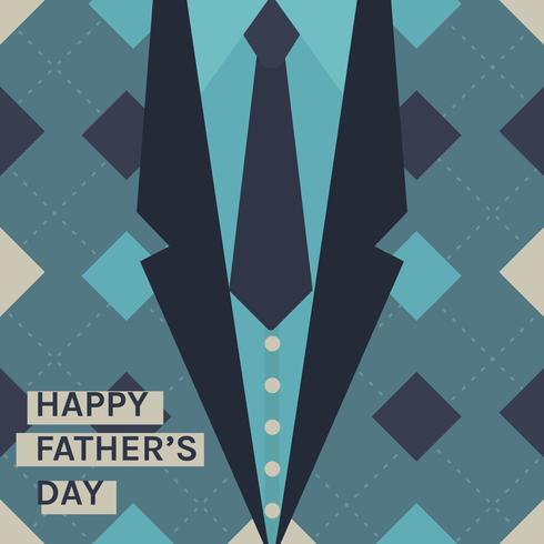 Die Krawatte des Vaters vektor