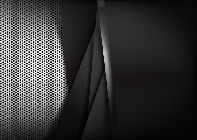 Abstraktes Hintergrundgriff poliertes Metall 004 vektor