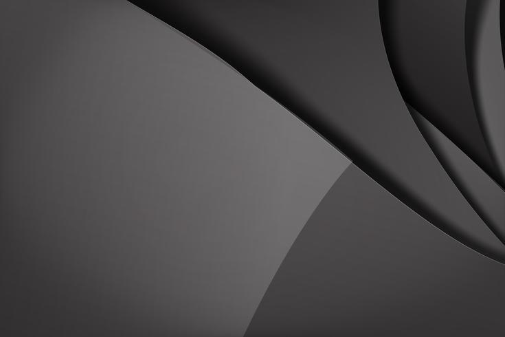 Abstrakt bakgrund mörk och svart överlappar 009 vektor