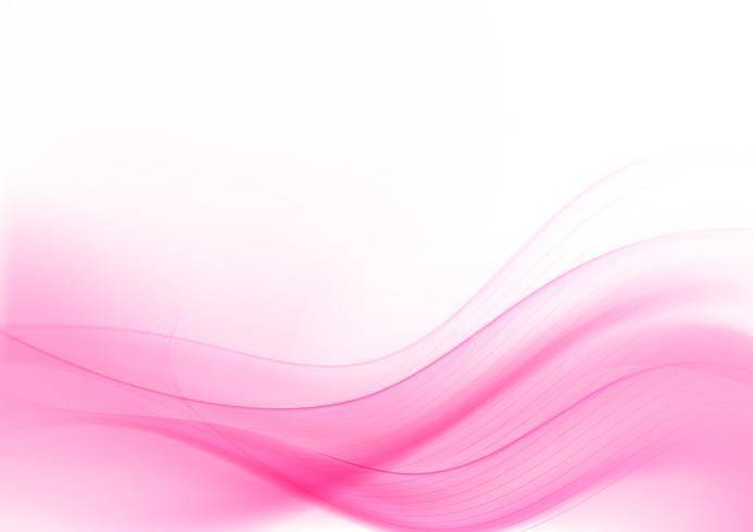Hellrosa abstrakter Hintergrund 008 der Kurve und der Mischung vektor