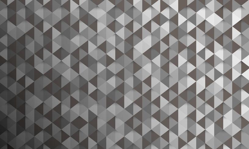 låg polygon och geometrisk bakgrund i vintage och retro stil vektor