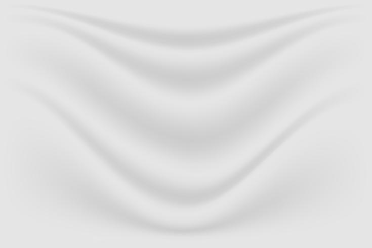 abstrakter grauer Luxuxbeschaffenheitsseidenhintergrund und Stoffwelle vektor