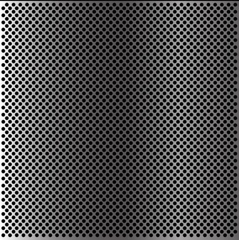Abstrakte Metallkreismaschenmustertapetenhintergrundbeschaffenheits-Vektorillustration. vektor
