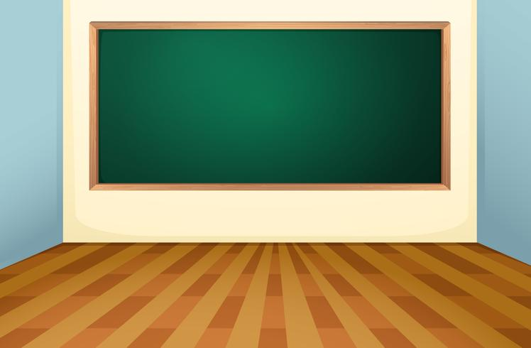 Klassrum och styrelse vektor