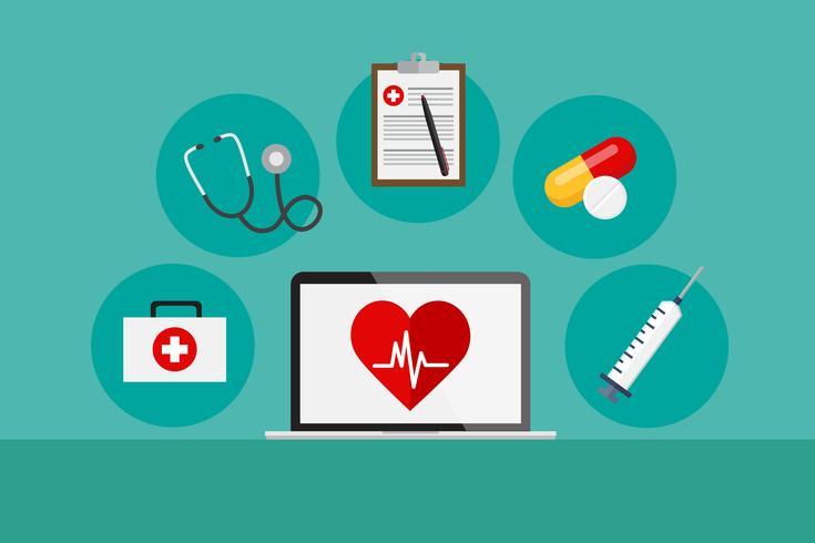 Hälsovård vektor