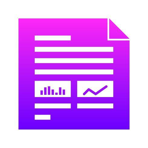SEO, Suchmaschinenoptimierung UI-Glyphe-Symbol mit Farbverlauf Hintergrund vektor