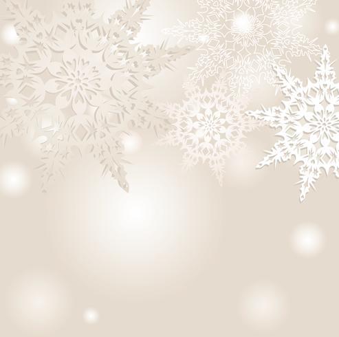 Snö oskärpa mönster. Jul Vinterferie snöig naturbakgrund vektor