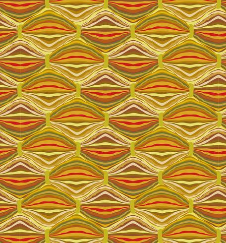 Abstrakt vågigt linjemönster. Ullväv geometrisk prydnad vektor