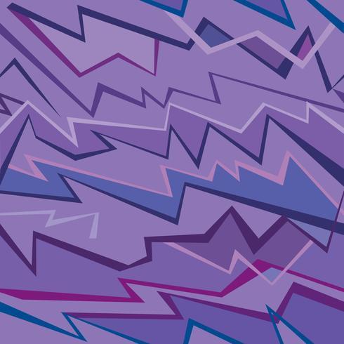 Abstraktes geometrisches nahtloses Muster. Fabric Zick-Zack-Linie Ornament. vektor