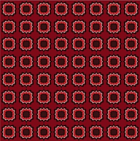 Nahtlose Linienmuster. Abstrakte Blumenverzierung. Geometrische Textur vektor