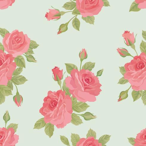 Blommigt sömlöst mönster. Blomma bakgrund. Trädgårdsprydnad vektor