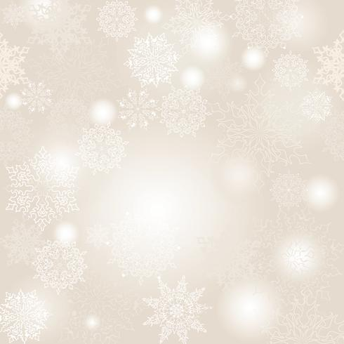 Schnee Unschärfe Muster. Naturhintergrund des Weihnachtswinterurlaubs schneebedeckter vektor