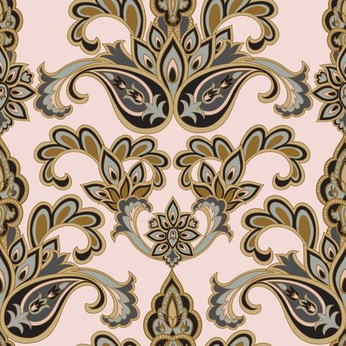 Blommigt sömlöst mönster. Blomma bakgrund. Blommig sömlös textur med blommor. Blomstra kaklade tapeter vektor
