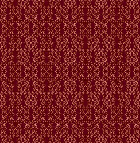 Orientalische Linie Muster Abstrakte Blumenverzierung Strudelgewebehintergrund vektor