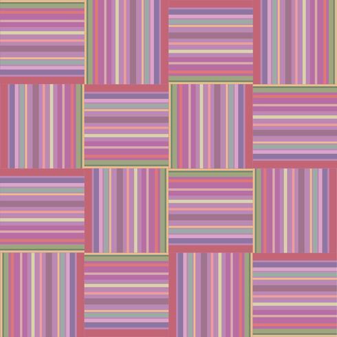 Stoff Ornament. Quadratischer geometrischer Hintergrund des nahtlosen Schottenstoffmusters vektor