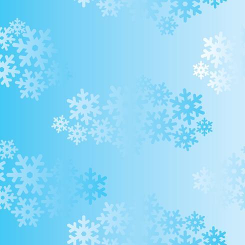 Snö sömlösa mönster Jul Vinter helgdag bakgrund vektor