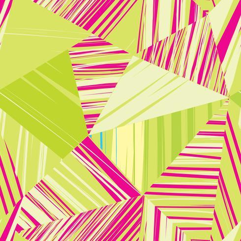 Abstrakt linje sömlöst mönster. Geometrisk form bakgrund vektor