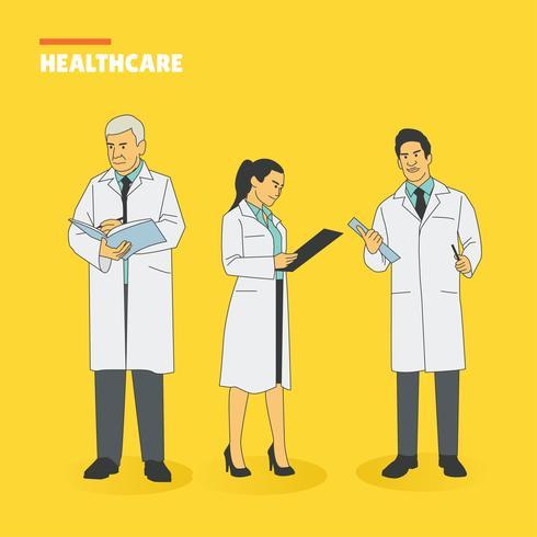 Sjukvård tecken vektor pack
