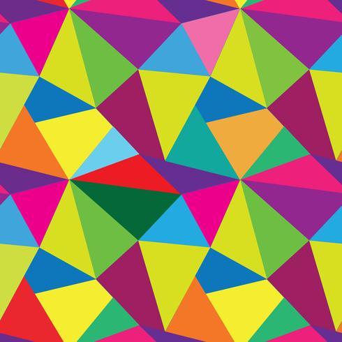 Abstrakt sömlöst mönster. Geometrisk mosaik bakgrund vektor