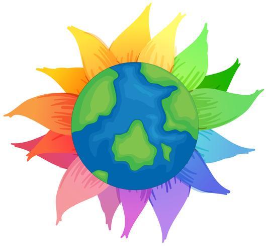 Planet Erde vektor