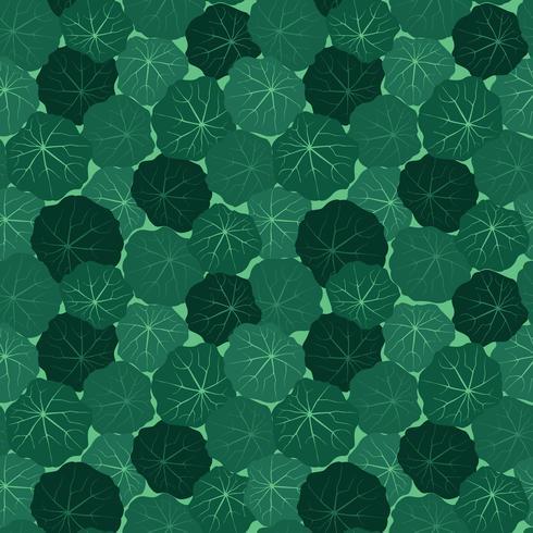 Abstrakt blommigt kakelmönster. Trädgården lämnar bakgrunden vektor
