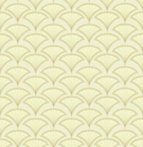 Abstraktes nahtloses Muster. Fächerformverzierung. Orientalischer Blumenhintergrund vektor