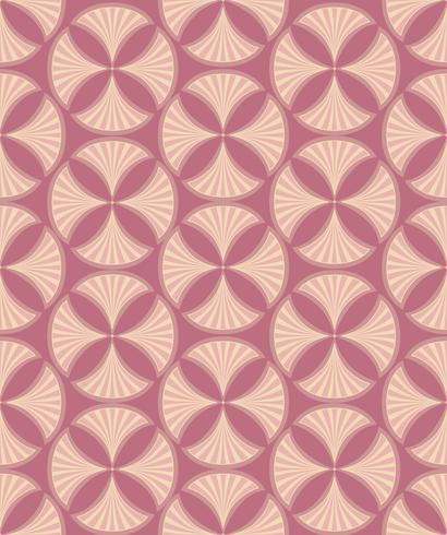 Nahtlose Blümchenmuster Retro Brokatverzierung. Gedeihen Blätter Kulisse vektor