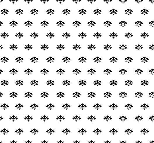 Seamless blommönster. Abstrakt blommig prydnad. Brocade Texture vektor
