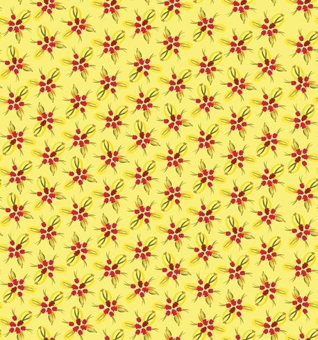 Nahtlose Blümchenmuster Abstrakter Blumenhintergrund. vektor