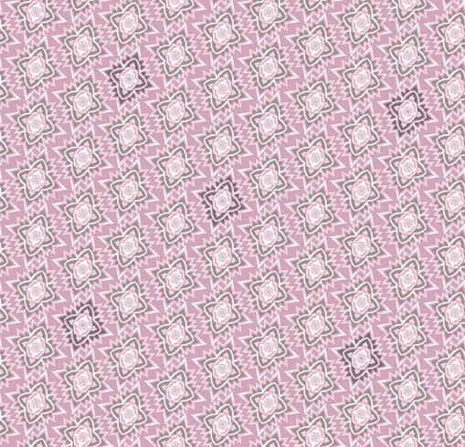 Nahtloses Mosaikmuster Orientalische Gewebebeschaffenheit der abstrakten Blumenverzierung vektor