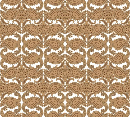Nahtlose Blümchenmuster Orientalische Textur Blumenverzierung vektor