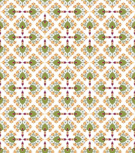 Abstrakte nahtlose mit Blumenbeschaffenheit. Stilvolles orientalisches Blumenmuster vektor