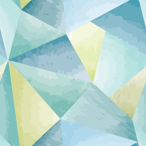 Form-Aquarellhintergrund des abstrakten nahtlosen Musters geometrischer vektor